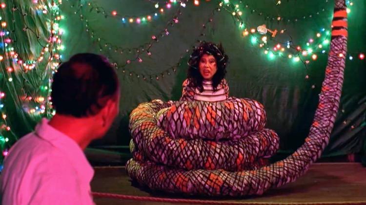 《熱帶魚》1995,文英阿姨演蛇女